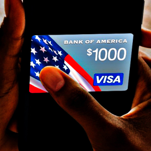 $1,000 Bank of America Visa Card (Paid Participation Required)