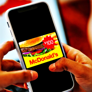 $100 McDonald's Gift Card (Paid Participation Required)